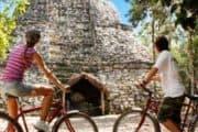Biking at Ancient