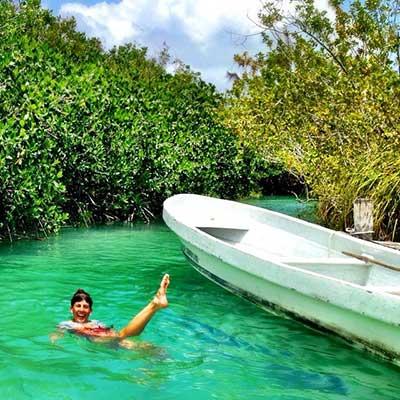 Muyil River Float1